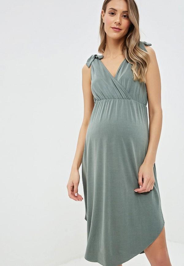 женское платье для беременных mamalicious, хаки