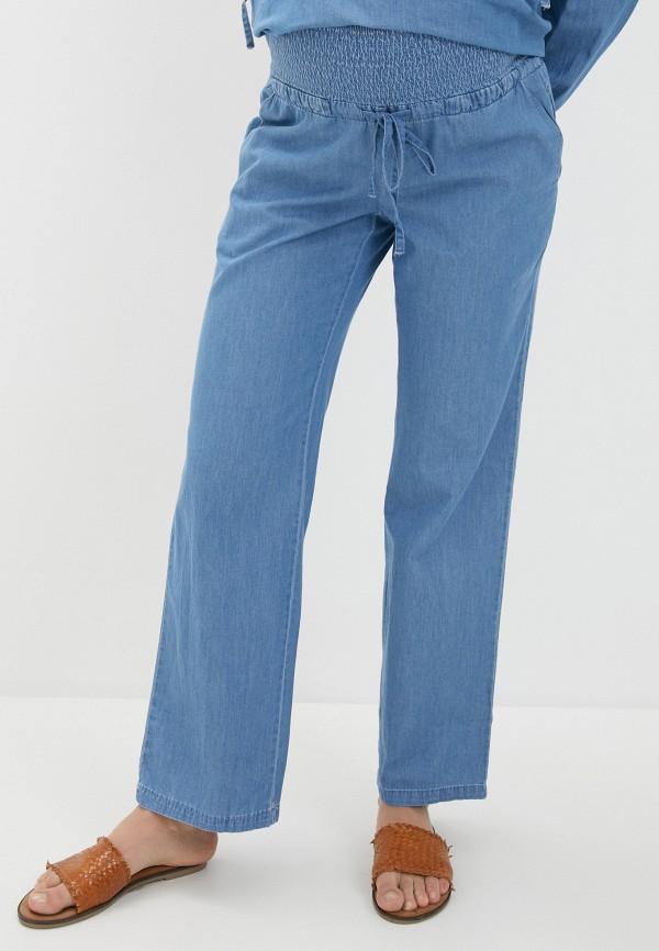 женские джинсы mamalicious, голубые