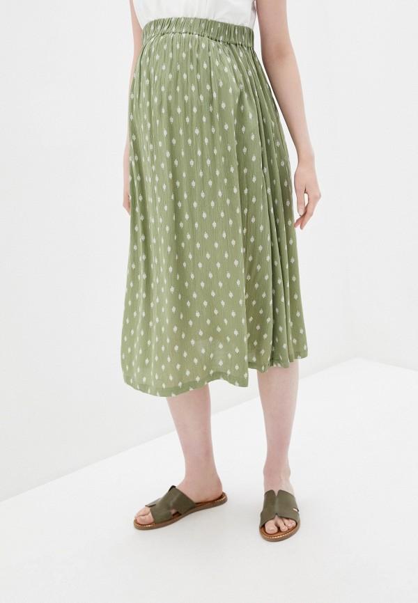 женская юбка mamalicious, хаки