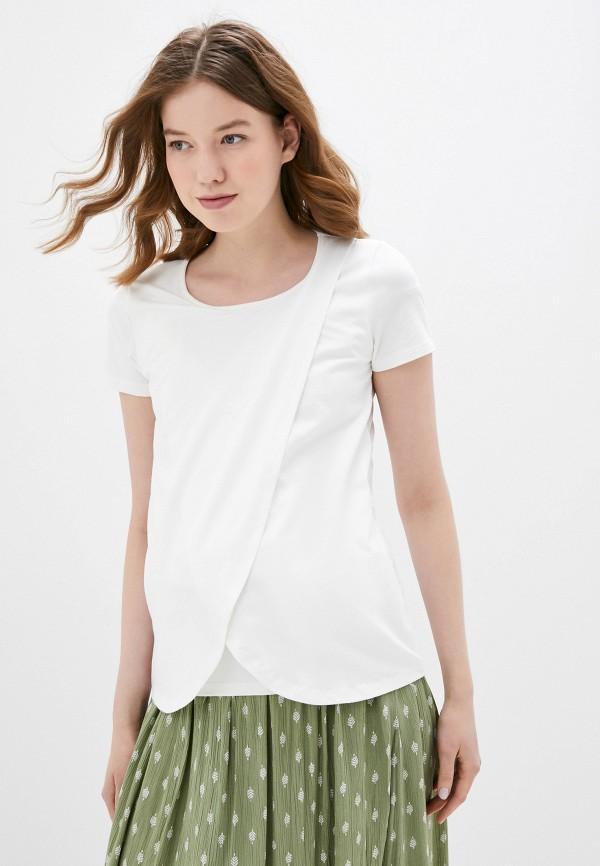 женская футболка mamalicious, белая