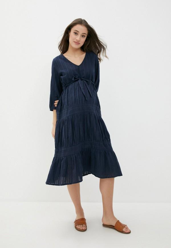 женское платье mamalicious, фиолетовое