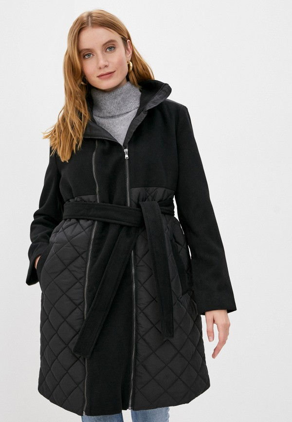 женская куртка mamalicious, черная