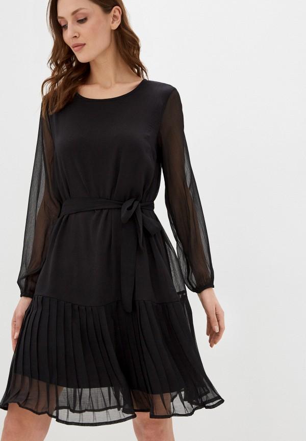 женское повседневные платье mamalicious, черное
