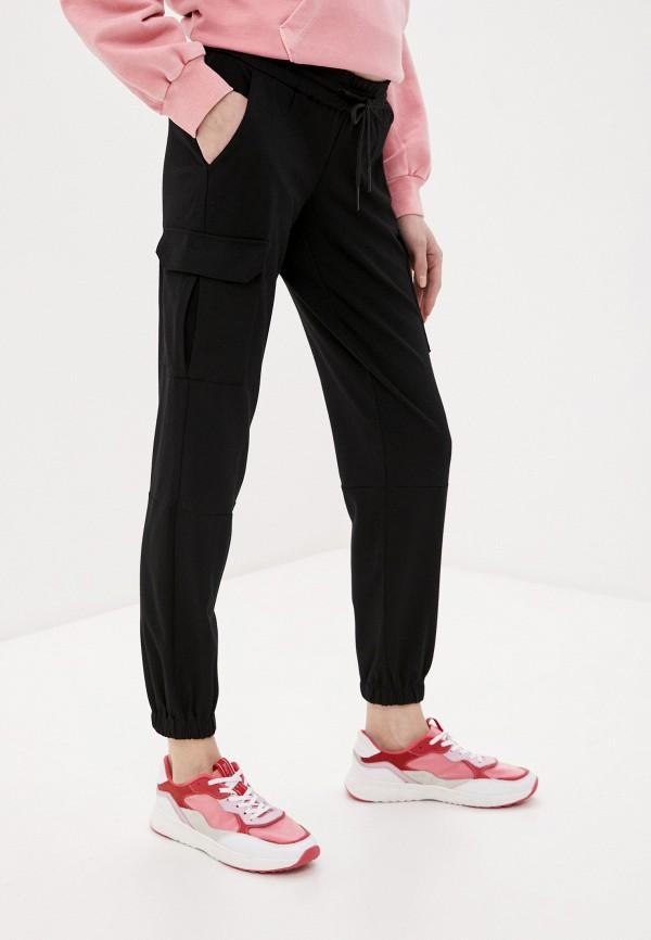 женские брюки mamalicious, черные