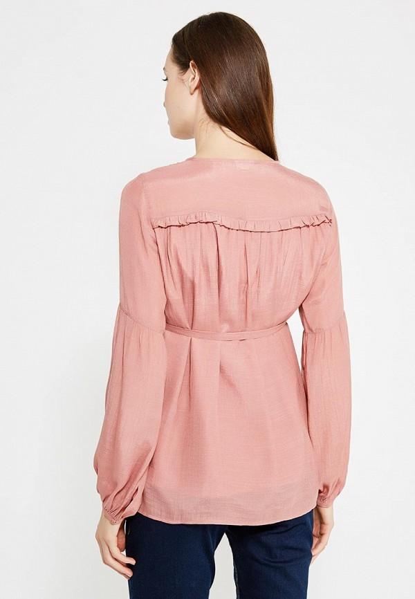 Фото 3 - женскую блузку Mamalicious розового цвета