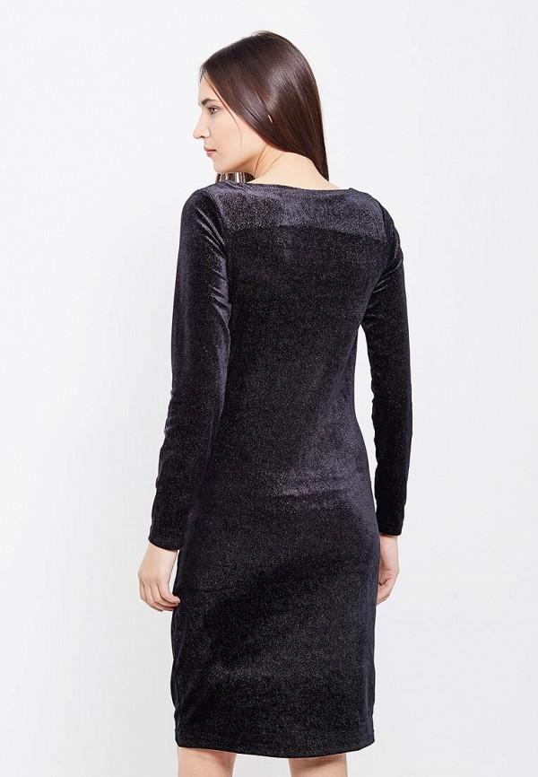 Фото 3 - женское вечернее платье Mamalicious черного цвета
