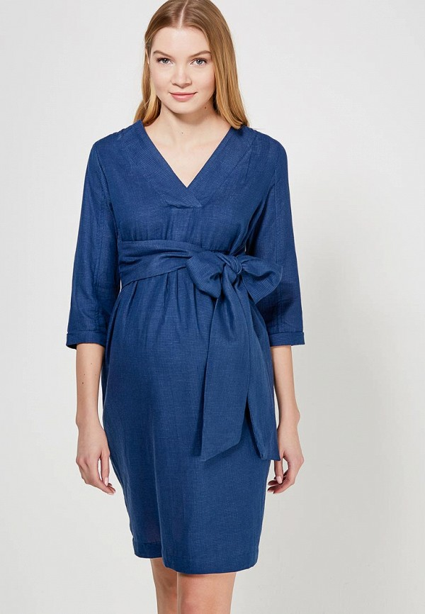 Купить Платье Mamalicious, ma101ewzwj32, синий, Весна-лето 2018
