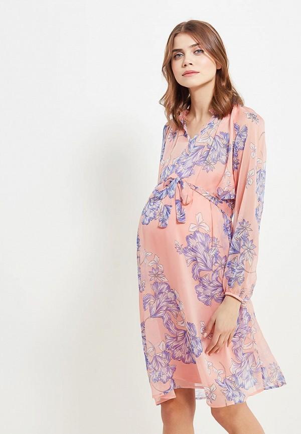 Купить Платье Mamalicious, ma101ewzwj52, розовый, Весна-лето 2018