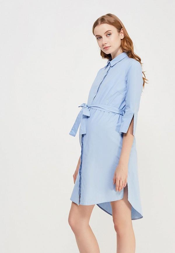 Купить Платье Mamalicious, MA101EWZWJ55, голубой, Весна-лето 2018