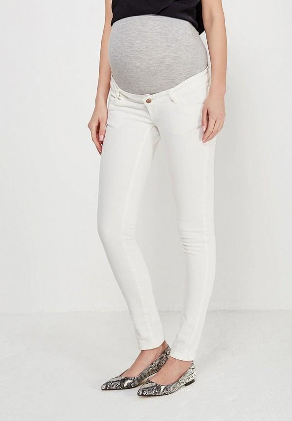 женские джинсы mamalicious, белые