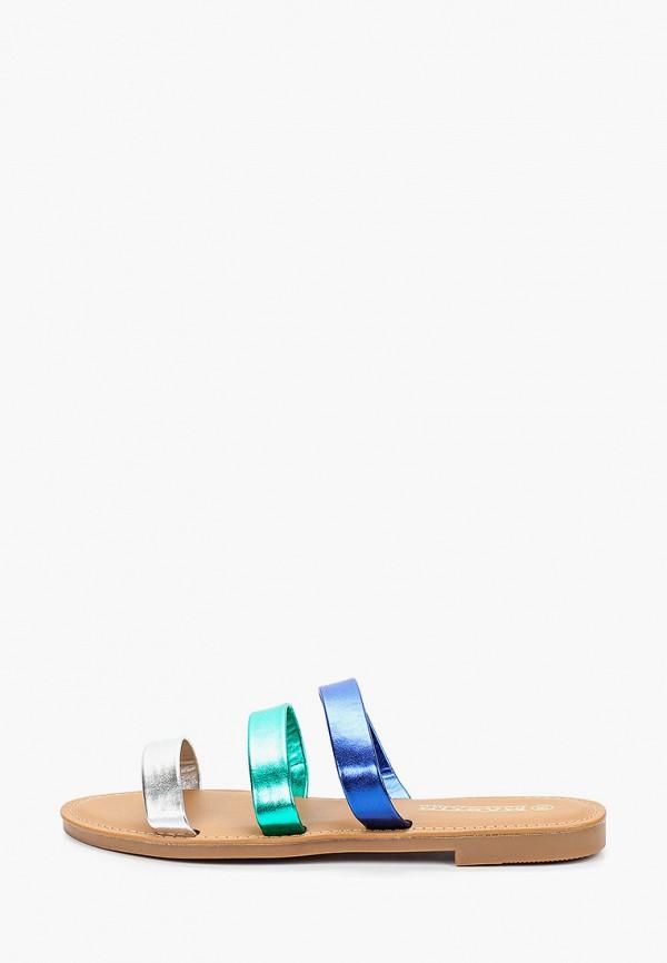 женское сабо martin pescatore, разноцветное
