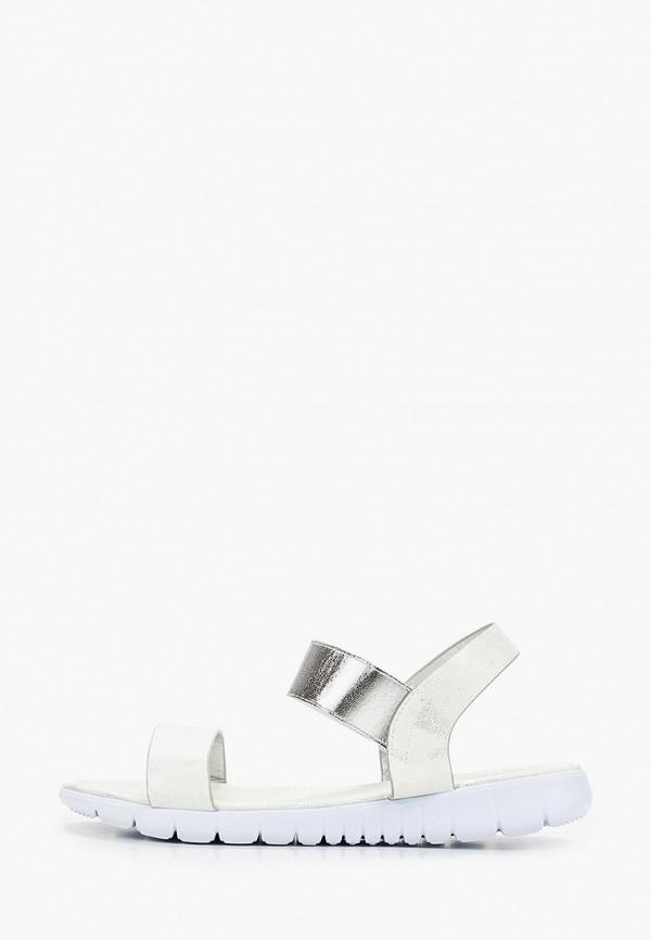 женские сандалии martin pescatore, серебряные