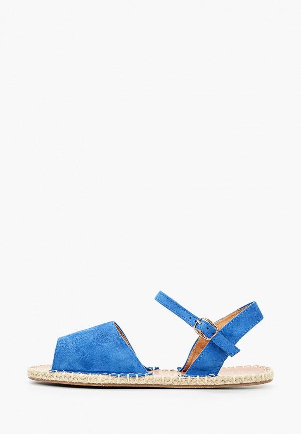 женские сандалии martin pescatore, голубые