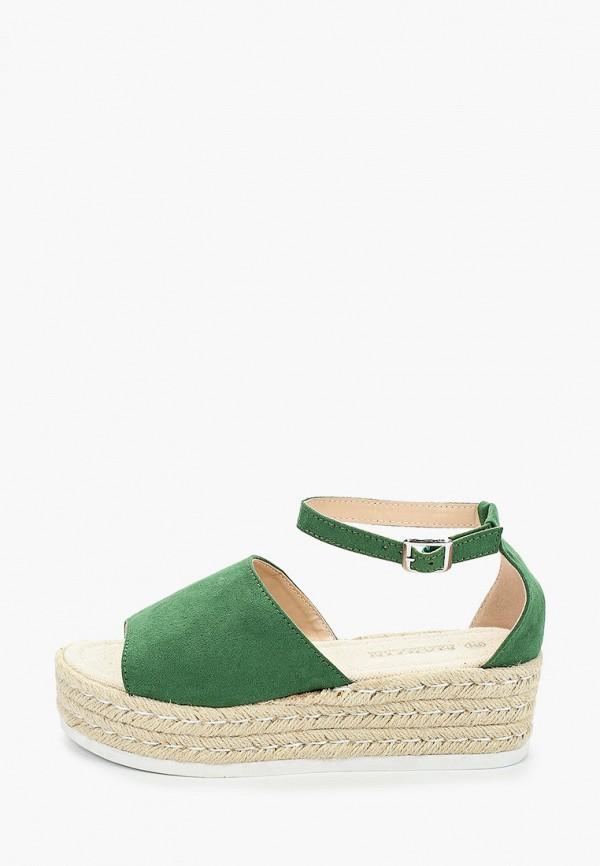 женские сандалии martin pescatore, зеленые