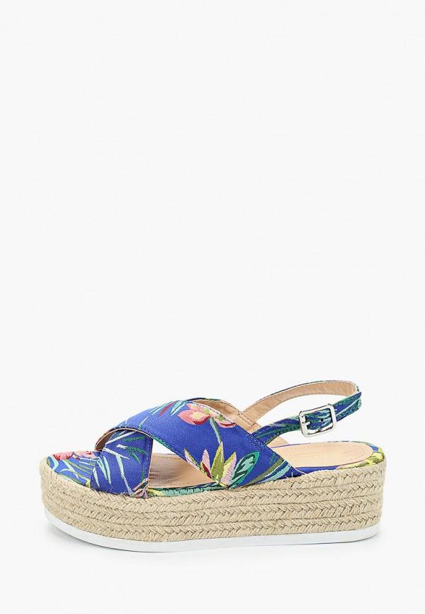 женские босоножки martin pescatore, голубые