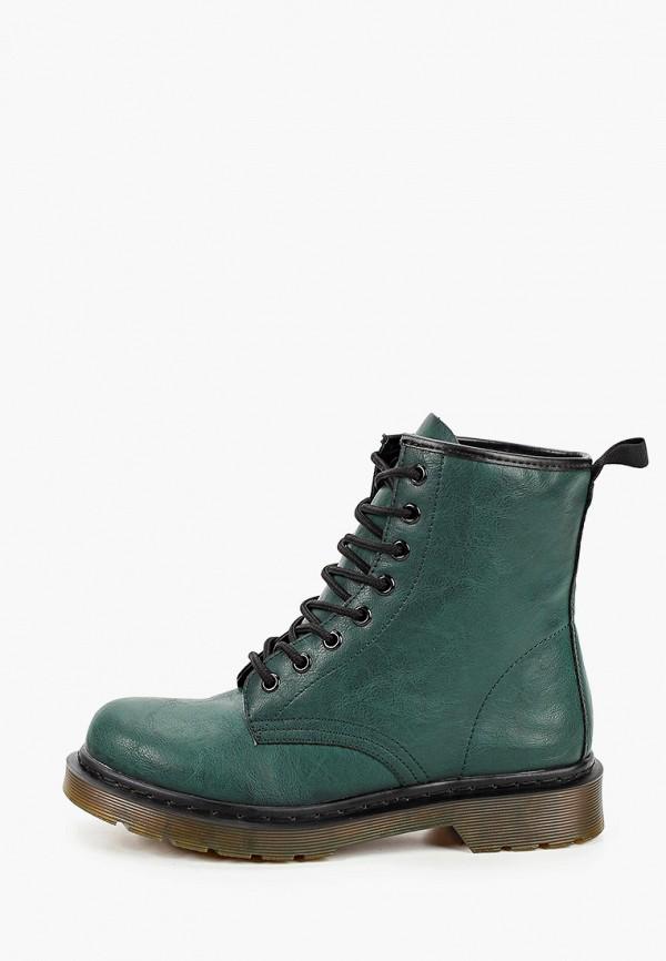 женские ботинки martin pescatore, зеленые