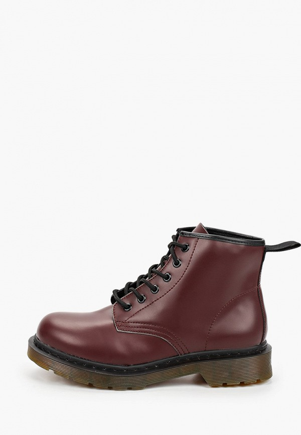 женские ботинки martin pescatore, бордовые
