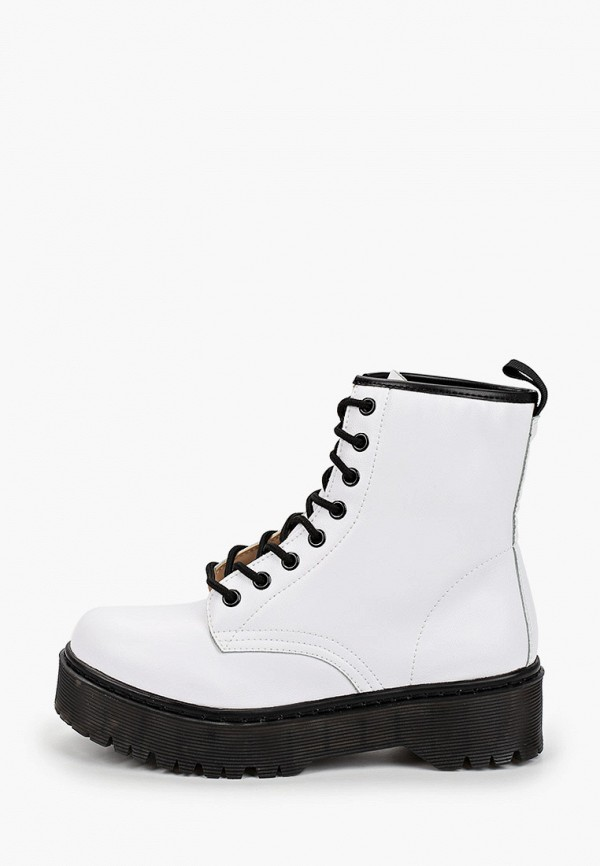 женские ботинки martin pescatore, белые