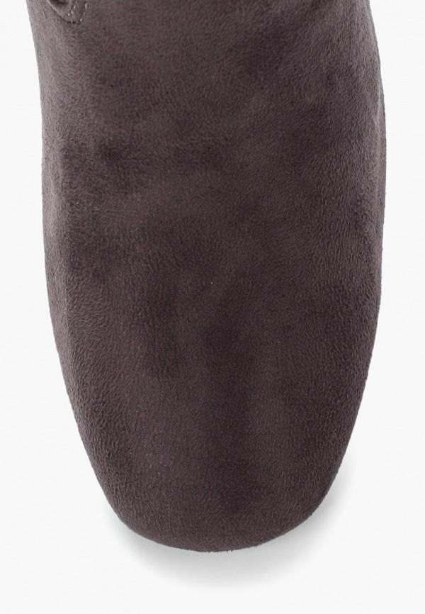 Фото 15 - женские ботфорты Martin Pescatore серого цвета