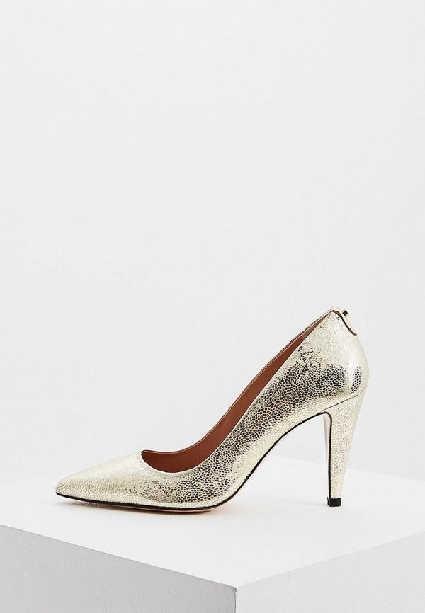 женские туфли max&co, золотые