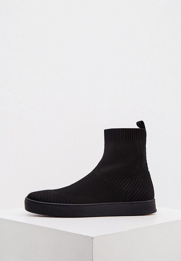 женские ботинки max&co, черные