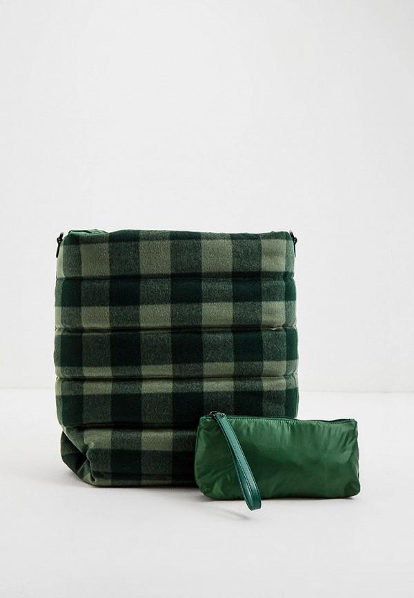 женская сумка-шоперы max&co, желтая
