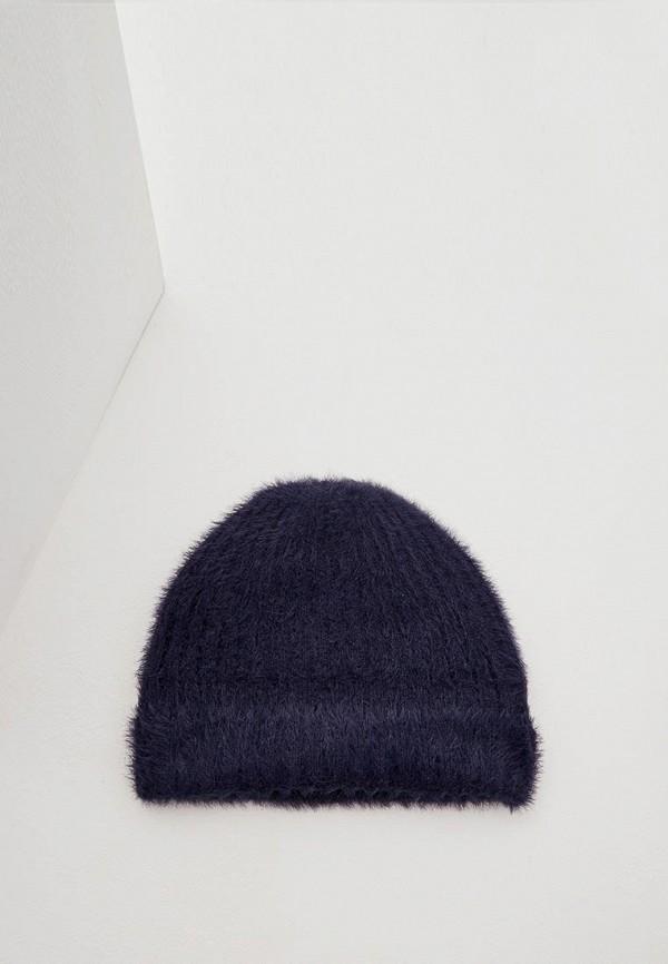 женская шапка max&co, синяя
