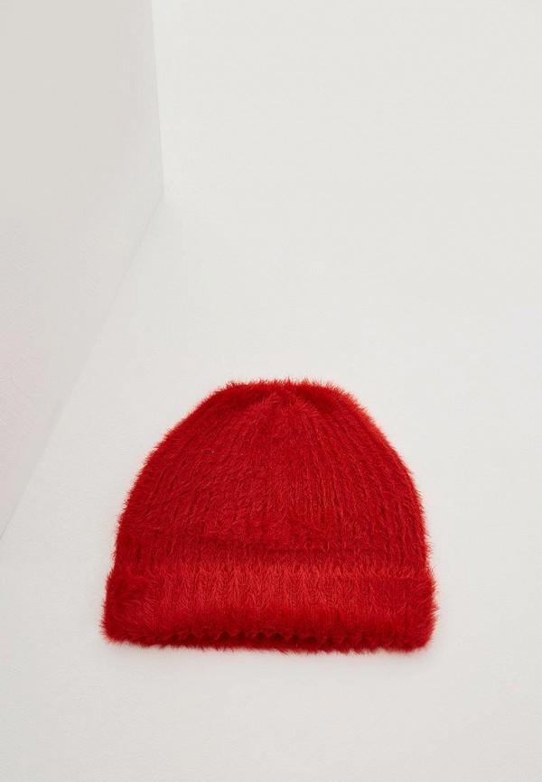 женская шапка max&co, красная