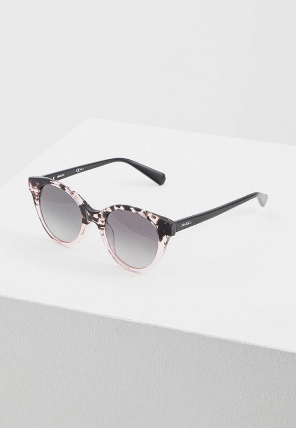 женские солнцезащитные очки max&co, розовые