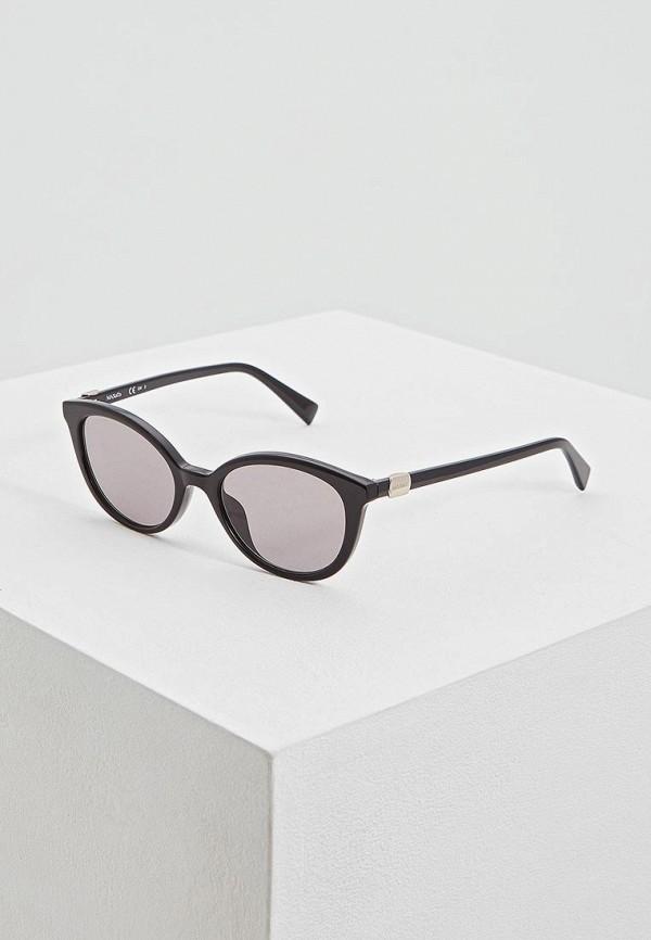 женские солнцезащитные очки max&co, черные