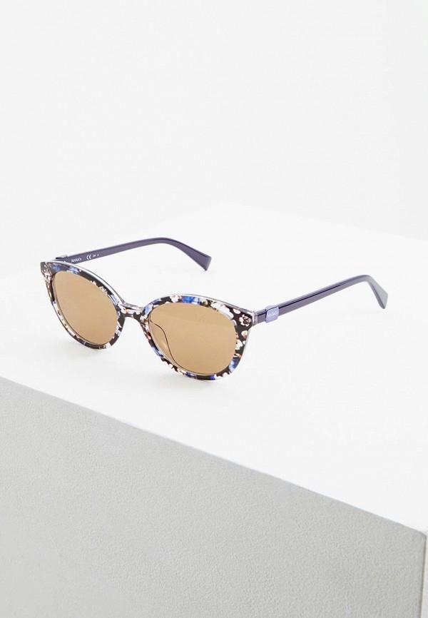 женские солнцезащитные очки max&co, синие