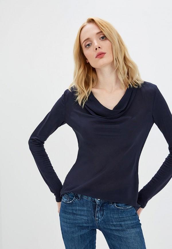 Купить Блуза Max&Co, ma111ewbyah2, синий, Осень-зима 2018/2019