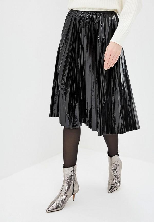 женская юбка max&co, черная