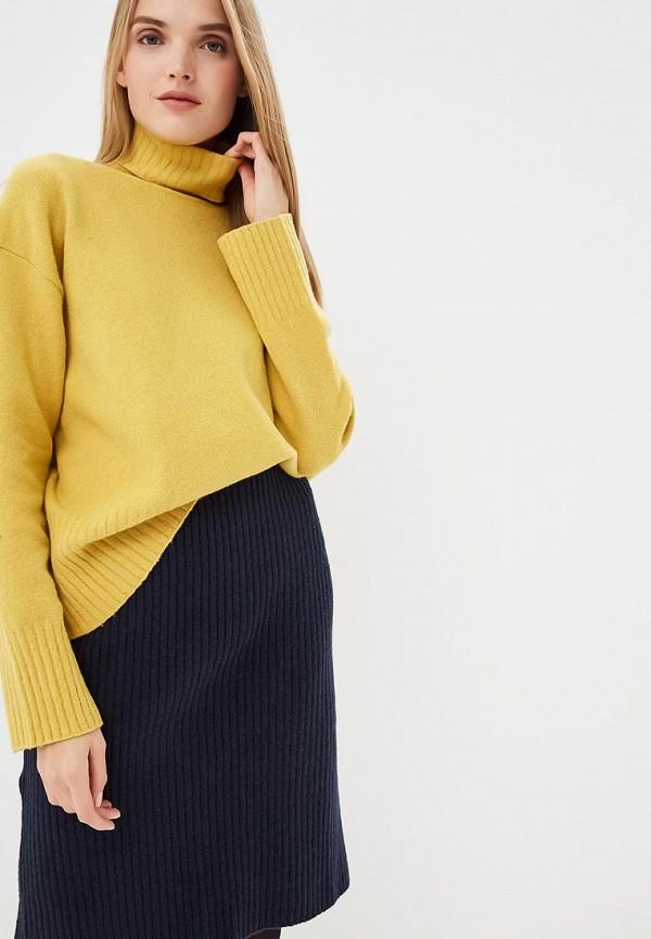 женский свитер max&co, желтый