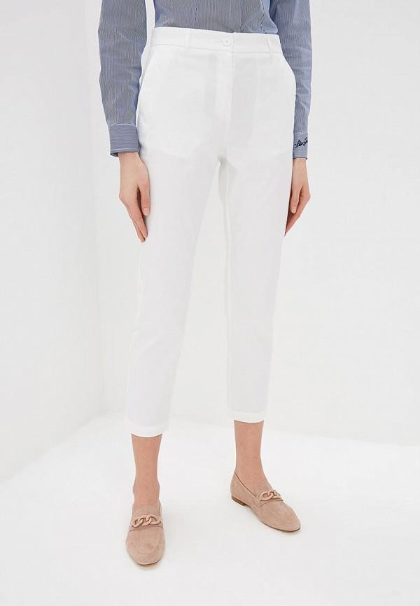 женские повседневные брюки max&co, белые