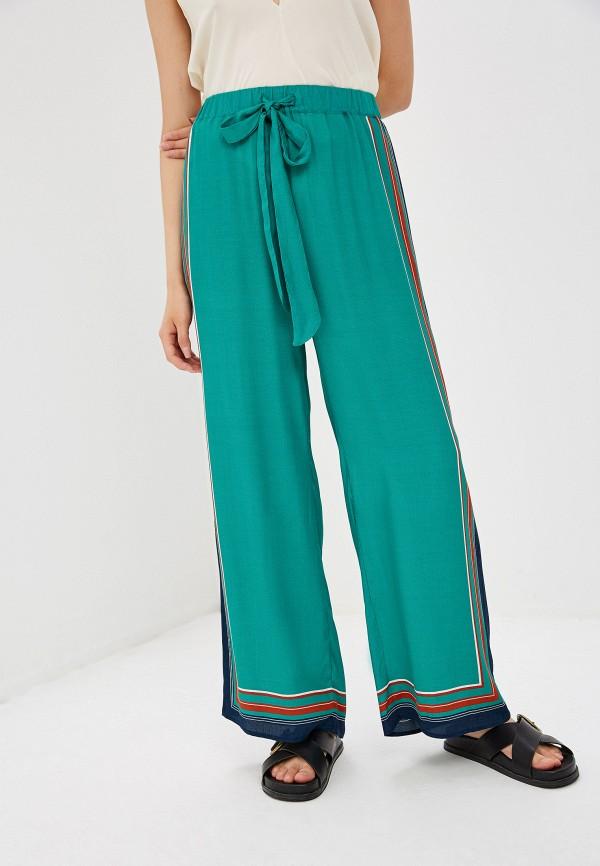 женские повседневные брюки max&co, бирюзовые