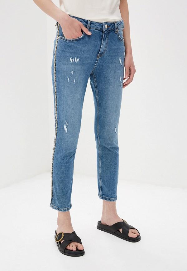 женские джинсы max&co, голубые