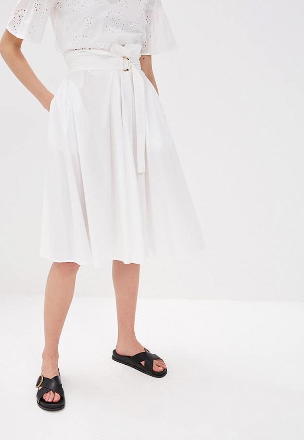 женская юбка max&co, белая