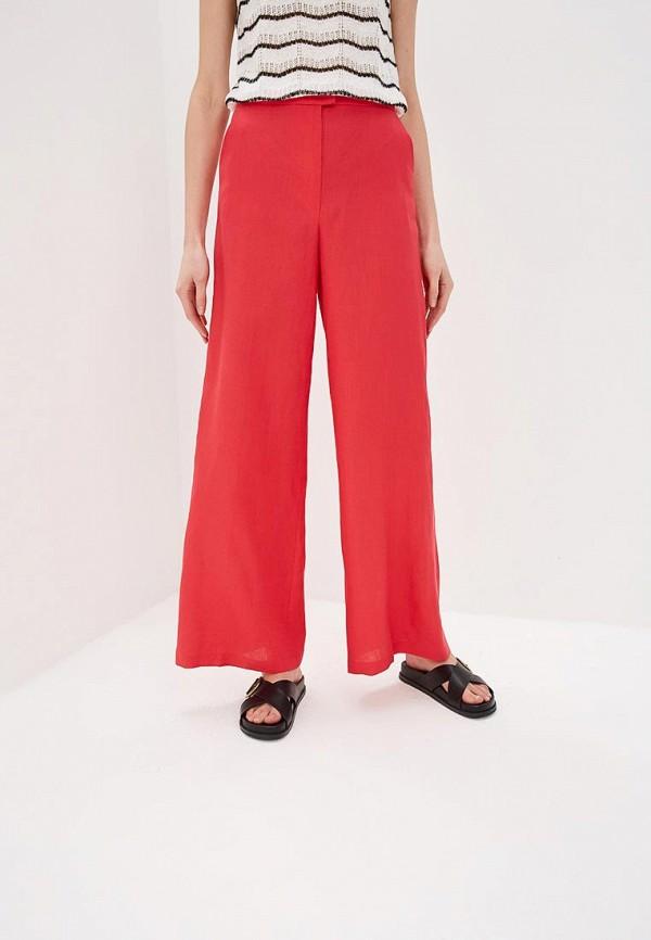 женские повседневные брюки max&co, красные
