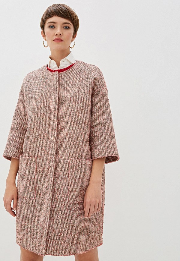Фото - Пальто Max&Co розового цвета