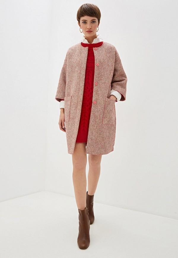 Фото 2 - Пальто Max&Co розового цвета