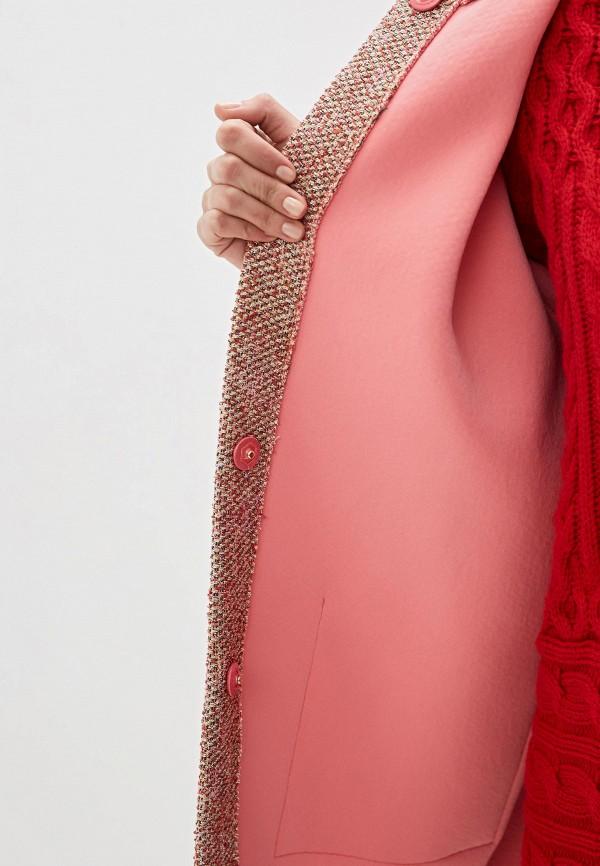 Фото 4 - Пальто Max&Co розового цвета