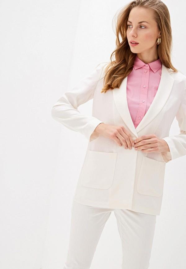 женский пиджак max&co, белый