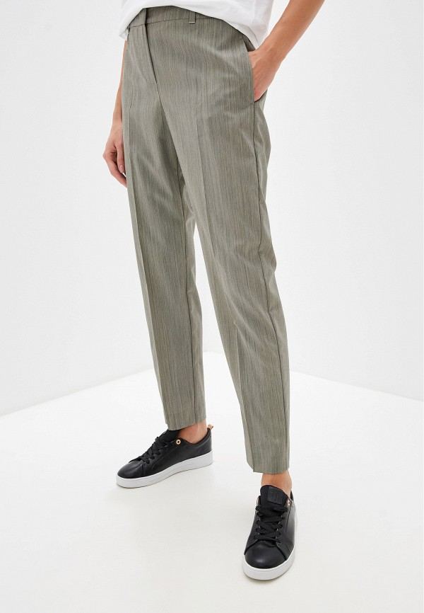 женские классические брюки max&co, бежевые