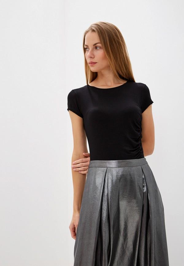 женская футболка max&co, черная