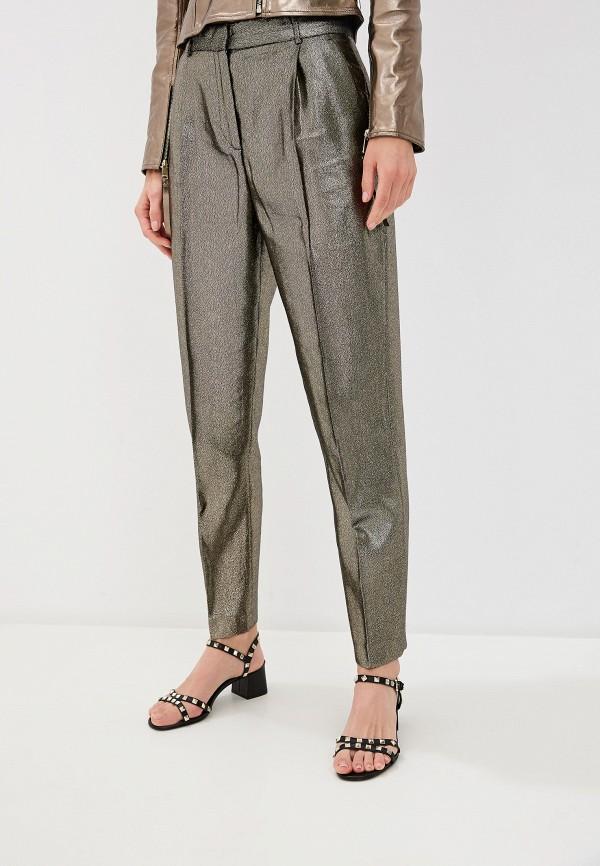 женские классические брюки max&co, золотые