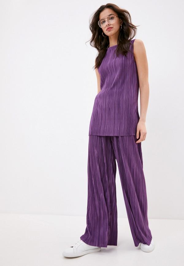 женский костюм max&co, фиолетовый