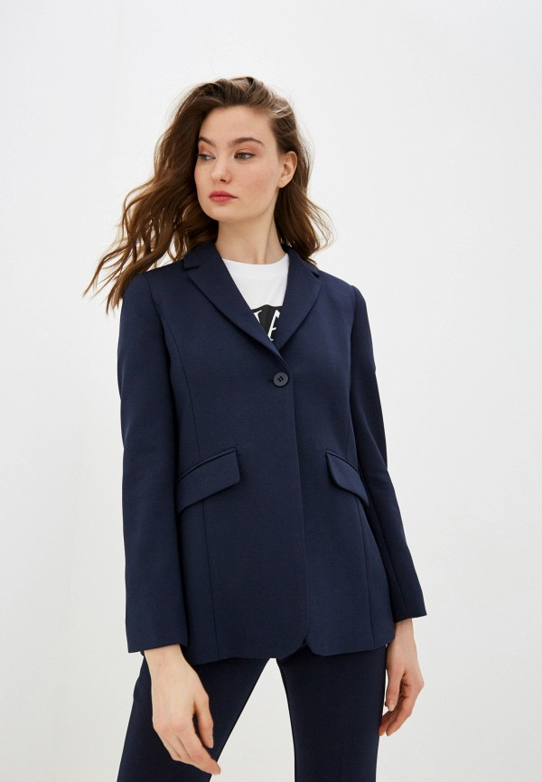 женский пиджак max&co, синий