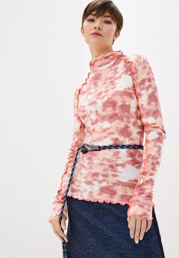 женская водолазка max&co, розовая