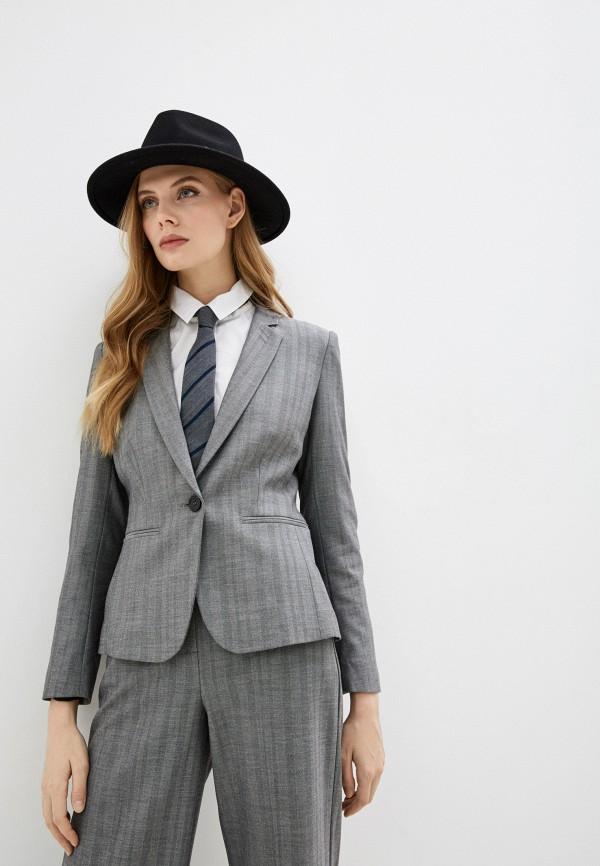 женский пиджак max&co, серый